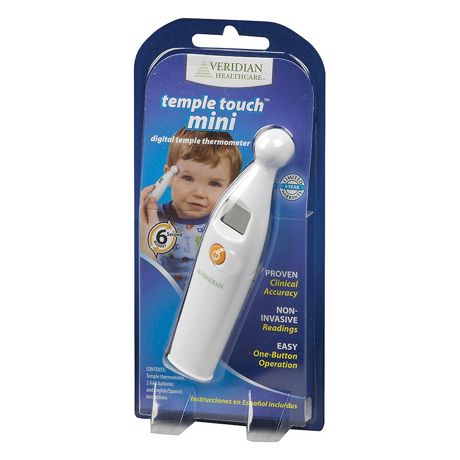 Veridian Healthcare Mini Temple Touch Thermometer   Walgreens