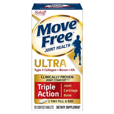 Schiff Move Free Ultra Triple Action with UCII Coated ...