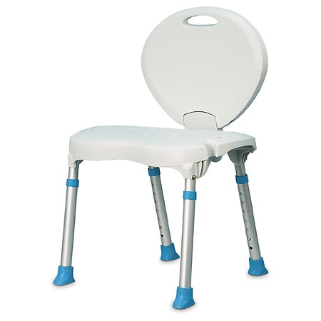 AquaSense Folding Bath and Shower Chair with NonSlip Seat
