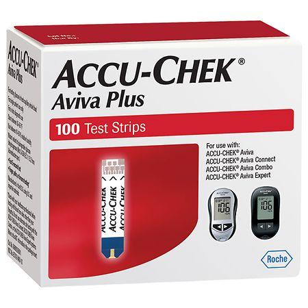 Accu-Chek Aviva Plus Test Strips | Walgreens