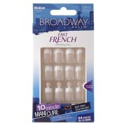 broadway nails fast french glue