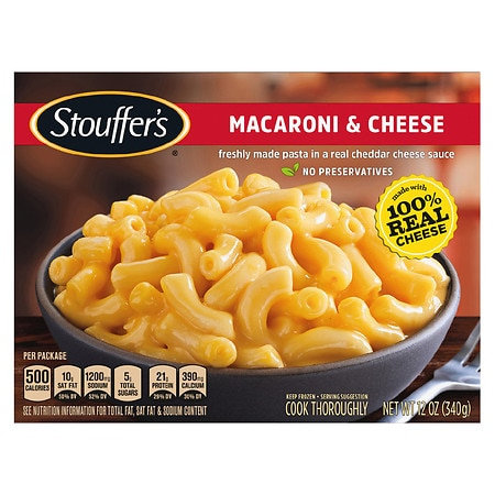 Stouffer39s Craveable Recipes Frozen Entree Macaroni