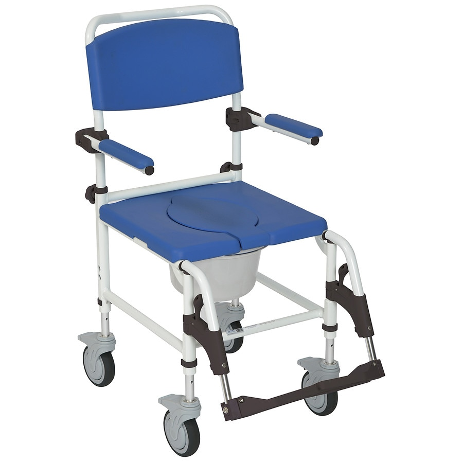 walgreens transport chair racing gaming drive medical aluminum shower commode |