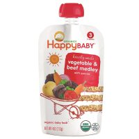 Happy Baby Organic Baby Food: Stage 3 / Meals, 7+ Months ...