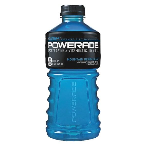 Powerade Sports Drink Moutain Berry Blast Walgreens