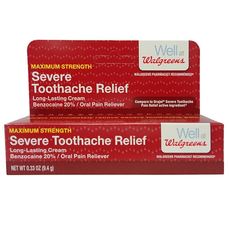 Walgreens Severe Tooth Ache Relief Paste | Walgreens