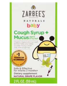 Product large image also zarbee   naturals baby cough syrup mucus reducer grape walgreens rh