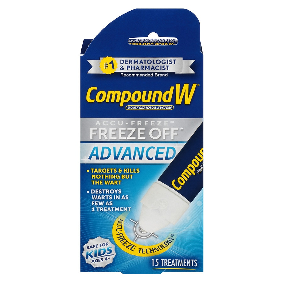 Compound W Wart Removal System Freeze Off Advanced ...
