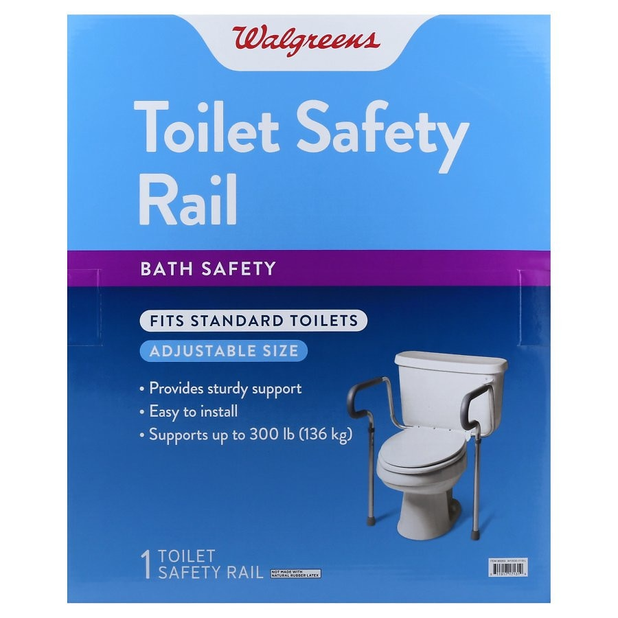 walgreens toilet safety rail