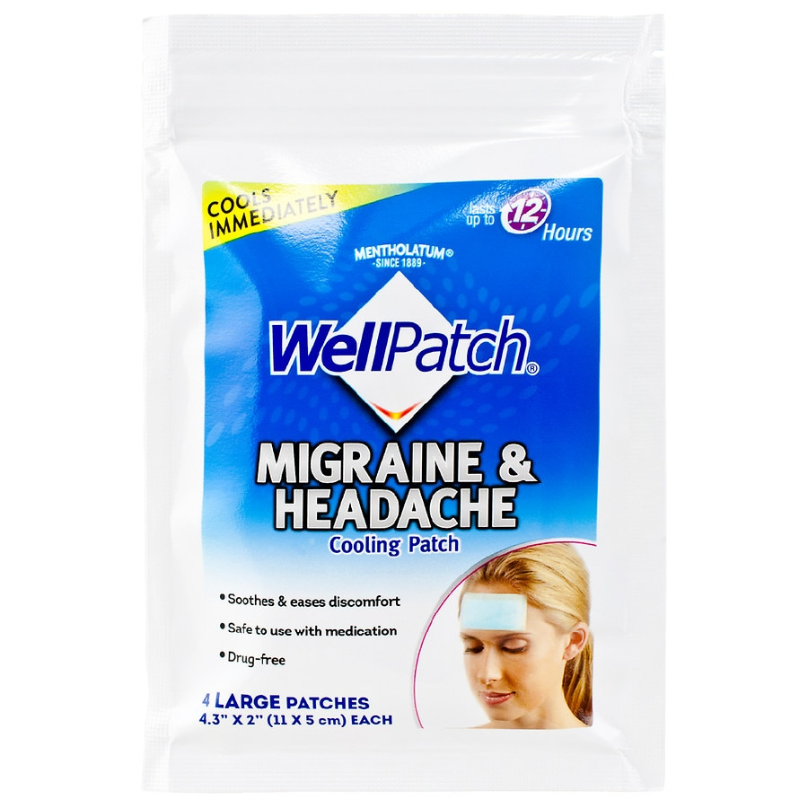 wellpatch migraine headache cooling