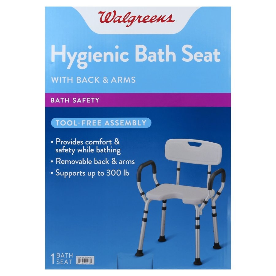 lift chair walgreens cover rentals birmingham al bath seat with arms back back1 0 ea