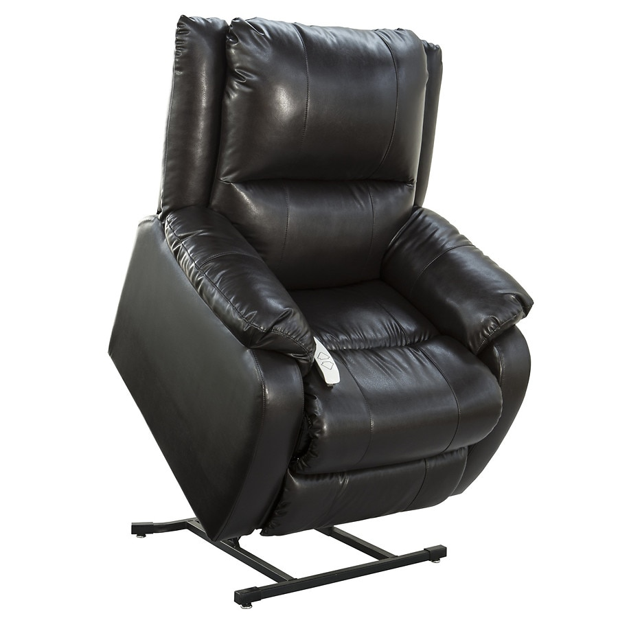 lift chair walgreens swivel for baby mega motion 3 position ramey lexi sta kleen vinyl black black1 0 ea