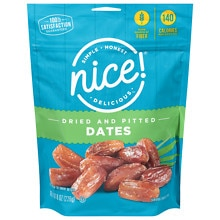 Nice! California Pitted Dates Pouch Walgreens
