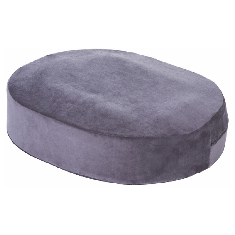 essential medical extra thick donut cushion with gel insert
