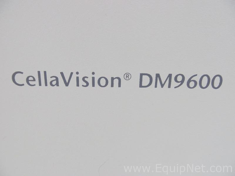 CellaVision DM9600 Hematology Analyzer Listing #545930