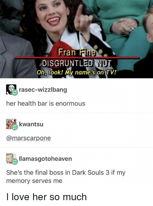 Dark Souls Boss Health Bar : souls, health, DISGRUNTLED, Look!, Name's, Rasec-Wizzlbang, Health, Enormous, Kwantsu, Llamasgotoheaven, She's, Final, Souls, Memory, Serves