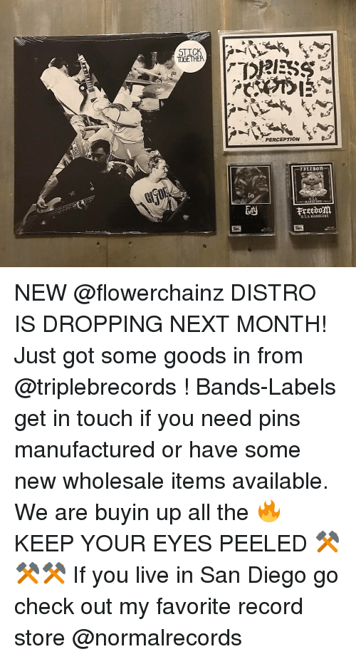 Record Labels In San Diego : record, labels, diego, STICK, TOGETHER, PERCEPTION, FREEDOM, ARDCORE, HARDCORE, DISTRO, DROPPING, MONTH!, Goods, Bands-Labels, Touch, Manufactured