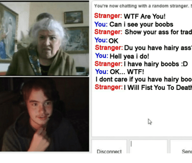 Ass Wtf And Boobs Youre Now Chatting With A Random Stranger