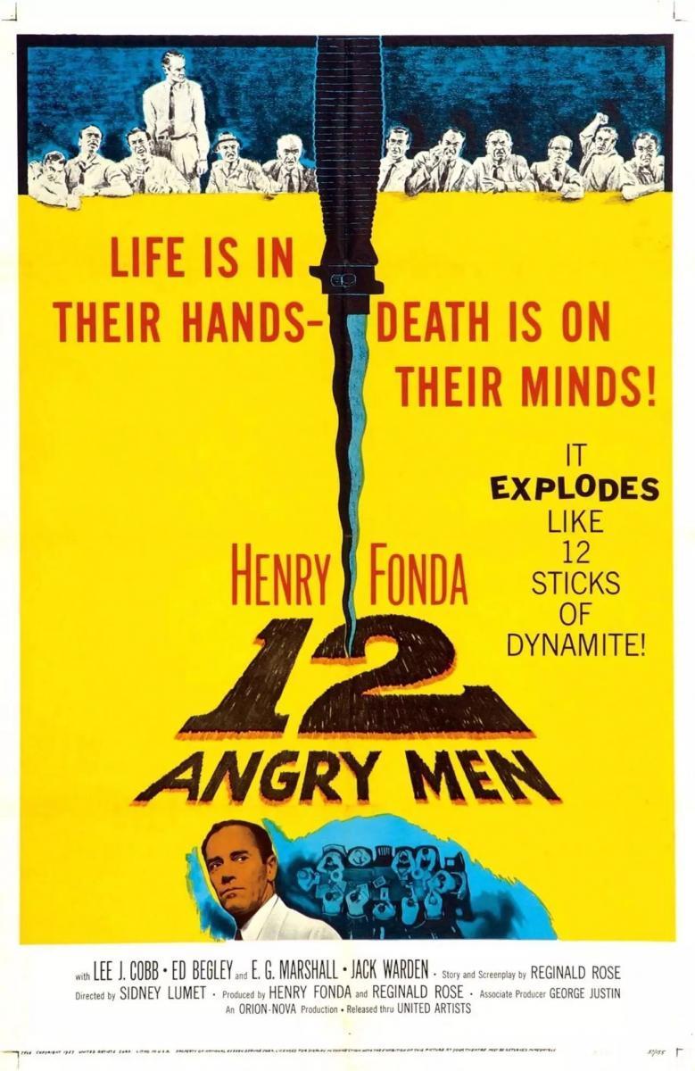 Doce Hombres Sin Piedad 1957 Filmaffinity