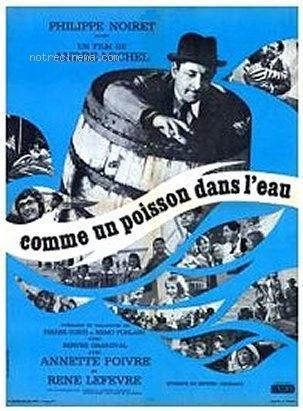 Comme Un Poisson Dans L'eau : comme, poisson, l'eau, Comme, Poisson, L'eau, (1962), Filmaffinity