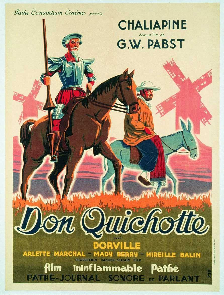 Quijote, Pabst