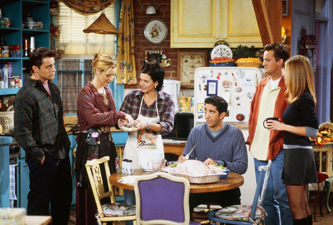 Résultat d'images pour friends photo decontractée du cast