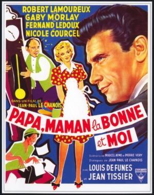 Papa, Maman, La Bonne Et Moi : papa,, maman,, bonne, Papa,, Maman,, Bonne, Moi..., (1954), Filmaffinity