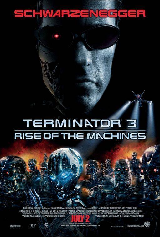 Terminator 3: the raise of machines Book Cover
