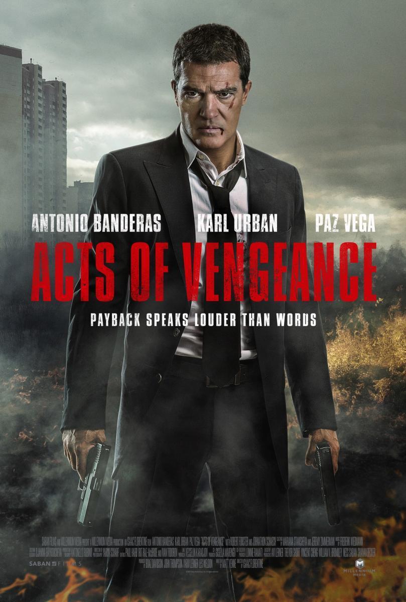 Resultado de imagen para Actos de venganza (2017)