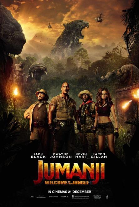 Jumanji Bienvenidos a la jungla