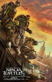 Tortugas Ninja: Fuera de las sombras.