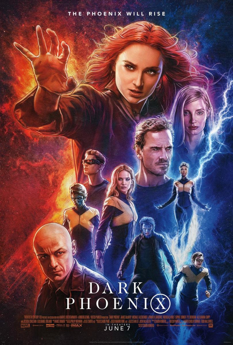 X-Men: Dark Phoenix [2019][Latino][1080p][GD]