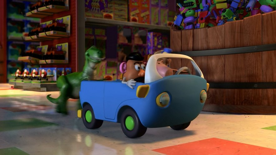 Eggman Movers Toy Story 2