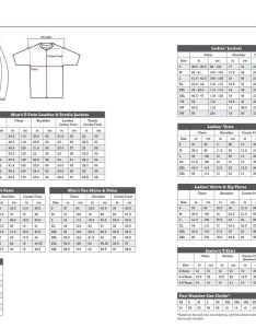 Indian motorcycle clothing size chart also charts rh leadersrpmshop