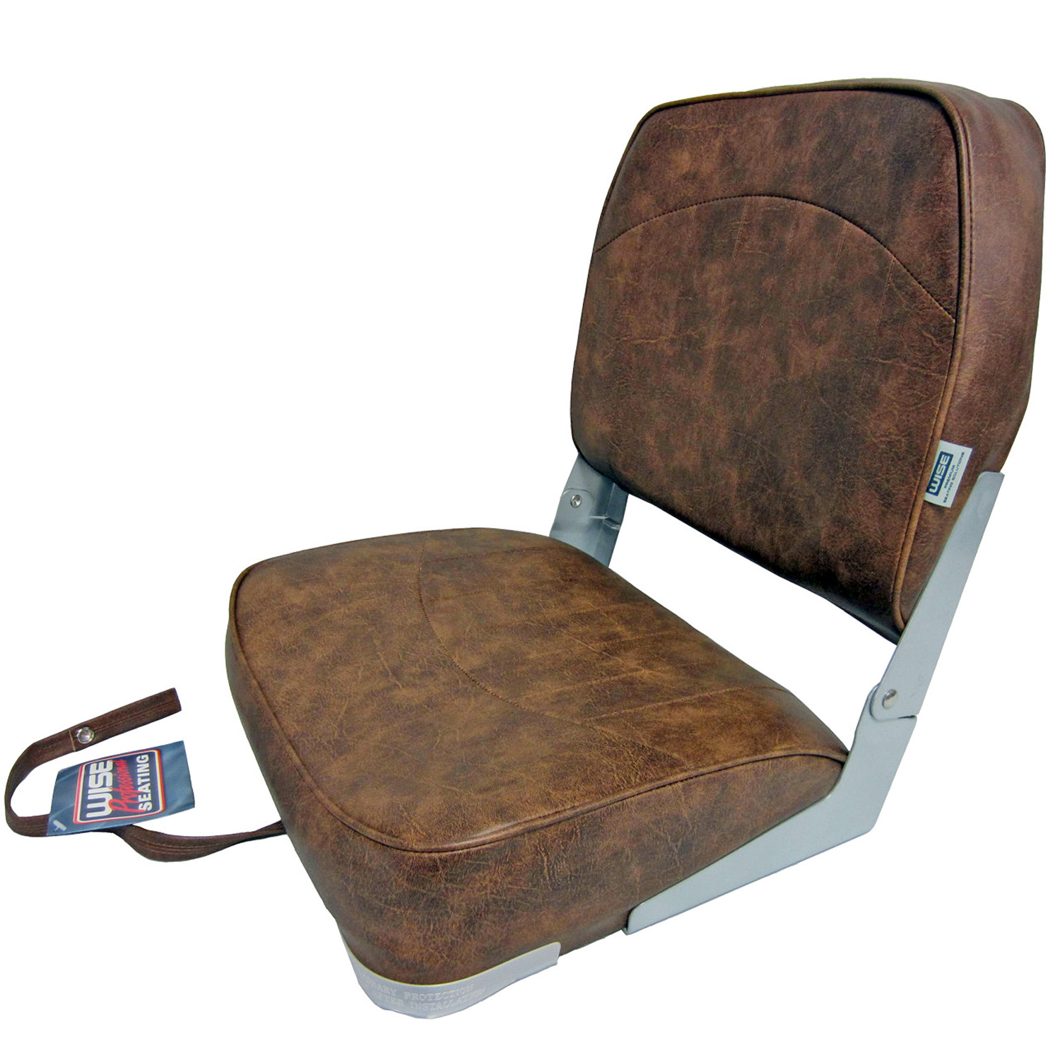 Composite Chairs Wise New Fishing Boat Seat Chair Brown Composite Base