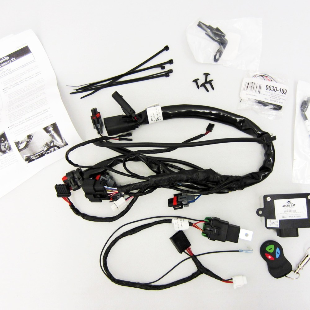 medium resolution of image is loading arctic cat new oem remote start kit 5639