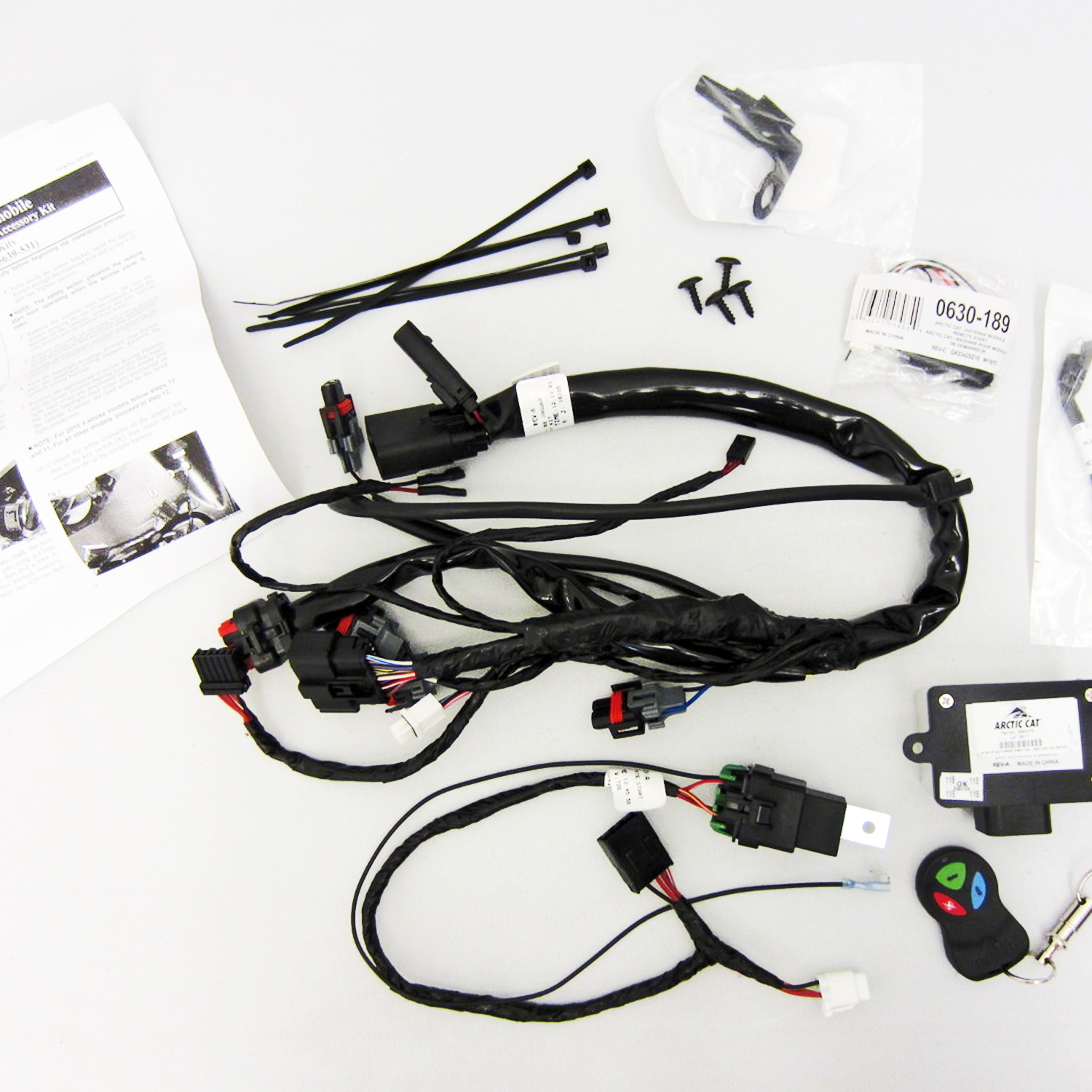 hight resolution of image is loading arctic cat new oem remote start kit 5639