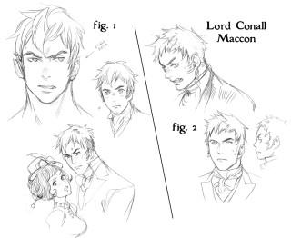 Soulless Manga Art ~ Alexia Tarabotti & Lord Conall Maccon
