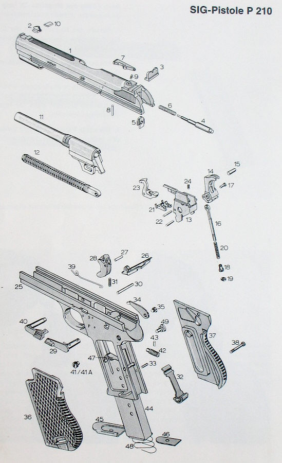 Sig Sauer P232 Parts Diagram, Sig, Free Engine Image For