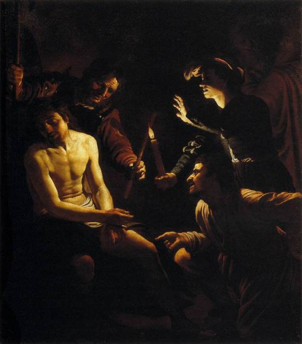 Paintings Gerrit Van Honthorst Christ