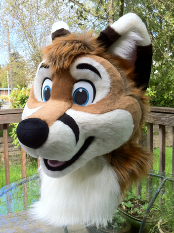 Second fursuit completed Meet Miko Fox   How DO you