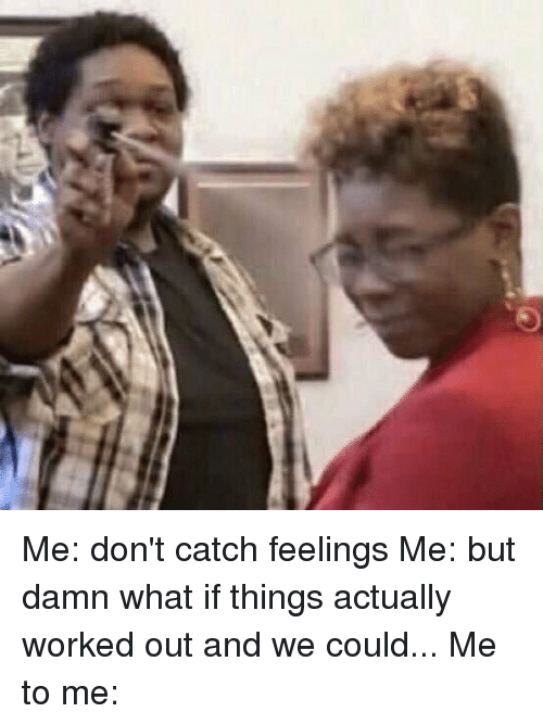 Don't Catch Feelings Meme : don't, catch, feelings, Catching, Feelings