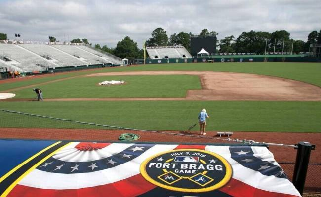 Major League Baseball To Play Game Between Braves And