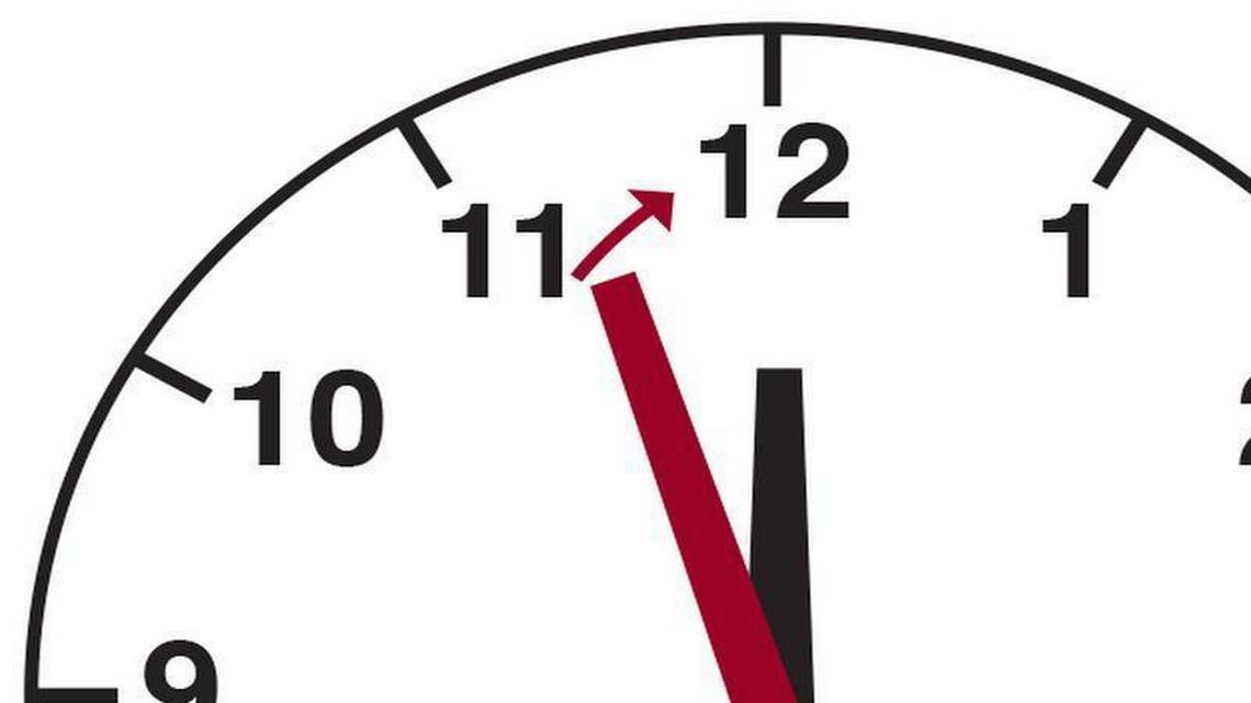 The Doomsday Clock just advanced again: It's now two-and-a
