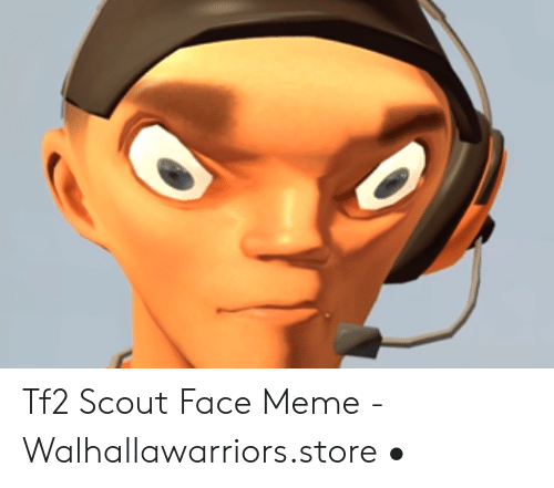10 tf2 scout face