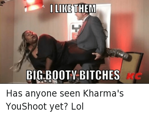 Bitch Booty And Lol L Like Them Big Booty Bitches Has Anyone Seen