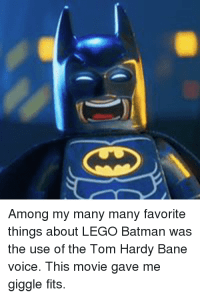 Among My Many Many Favorite Things About LEGO Batman Was ...