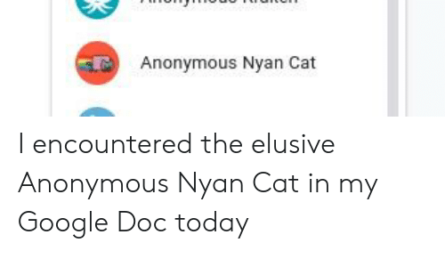 anonymous nyan cat i