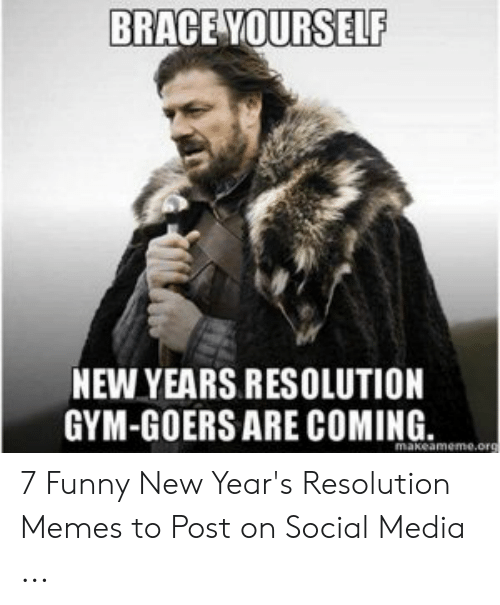 New Years Resolution Gym Meme : years, resolution, Years, Resolution