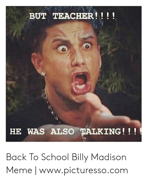 Billy Madison - Back to school on Make a GIF
